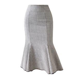 Gonna da donna Moda Mermaid Skirt Pacchetto Hip Sexy elegante Signore Skirt Gonna Business Gonne Business