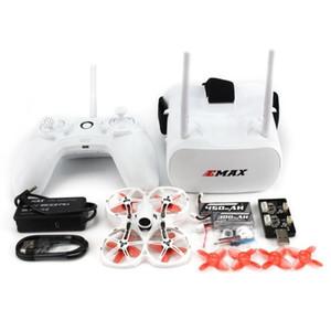 Emax Tinyhawk II WHOOP 75 мм 1-2с RC FPV Racing Drone W / FRSKY D8 RunCam Camera Transporter 5.8G FPV GOGGLES E6 передатчик