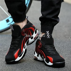 2020 summer new style breathable, shock absorption, non-slip, wear-resistant, high-top couple basketball shoes, trendy fashion sports shoes