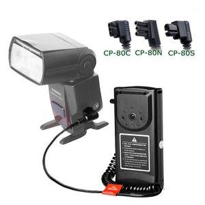 Flashes Godox CP-80 C N S Flash External Battery Pack For 580EX II 550EX 600EX  SB910 SB900 SB800  HVL-F60M F58AM F56AM1