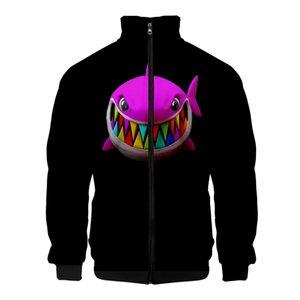 Rapper Tekashi 69 6ix9ine Gooba 3d Print Men's Slim Stand Collar Zipper Jacket Male Tracksuits Streetwear Hip Hop Hoodie