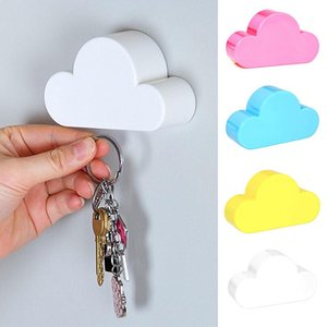 1pc Span-new Cloud-shaped Magnetic Key Holder Hanger Wall-mounted Key Holder Durable Magnetic Hook Home Kitchen Accessories