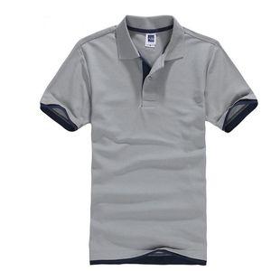 클래식 짧은 소매 티셔츠 남성 여름 캐주얼 솔리드 티셔츠 통기성 럭셔리 코튼 티셔츠 유니폼 골프 테니스 남자 Camisa 탑 y200623