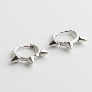 925 sterling silver earring fashion Personalized cone ear ring ear bone buckle trend boy girl silver jewelry
