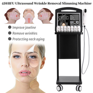4D HIFU Face Lift Anti Aging Body Slimming Skin Tightening 12 Lines High Intensity Focused Ultrasound Fat Reduction Machine