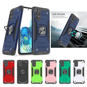 Capas telefônicos de titular de carro magnético para Samsung S20 Ultra S30 Note10 A51 A31 A21S Aproproficiência à prova de choque