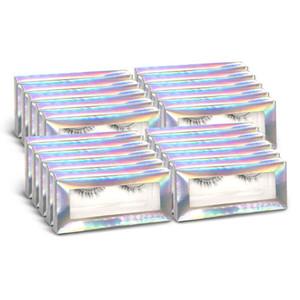 Wholesale Eyelashes 20 Pcs False Eyelash Drop Shipping 3D Mink Lashes Soft Silk Eyelashes Mink Makeup Support OEM Fake Lash