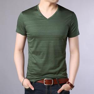 T-shirts hommes 2021 Marque de mode T-shirts T-shirts Hommes Couleur solide Vol V Tendances Streetwear Tops Summer Top Grade T-shirts T-shirts Vêtements