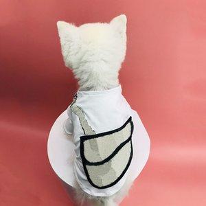 Vêtements de chien pour petits chiens en coton manteau pour Bulldog français Yorkie T-shirt avec sac à dos Vêtements pour animaux de compagnie PC1198 T200710