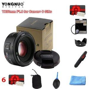 Original YONGNUO Lens YN50 mm 50mm F1.8 Camera Lens for Canon for Nikon DLSR Camera1