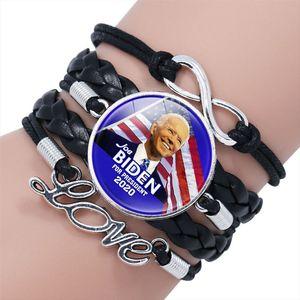 Joe Biden Bilezik Amerika Yeni Başkan Biden Bileklik Destekçi Hediyeler Örgü Bilek Bandı DHL Ücretsiz Kargo EWD3013