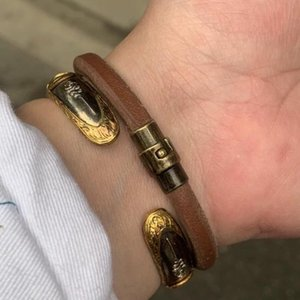 Cowhide Rope Bracelets For Men City Boy Men's Creative Retro Classic Couples Hand Bracelet For Lover