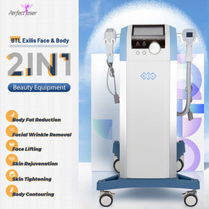 New Arrival 2 IN 1 BTL Wrinkle Removal Skin Rejuvenation Weight Loss Body Slimming Equipment Home Use