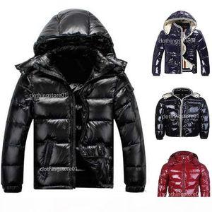 FASHION canada Men Women Casual Down Jacket Down Coats Mens Outdoor Warm Feather Man Winter Coat Outwear Jackets Parkas