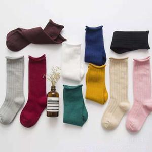 1-10 Years Baby Toddler Cotton Socks Kids Boys and Girl Spring Autumn winter Short socks Solid Color long for Children