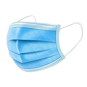 Free Shipping for 3-7 Days To The U.S. Disposable Mask with Elastic Earrings 3-layer Breathable Mask Male and Female Protective Mask