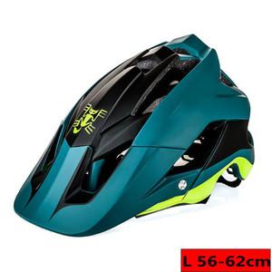 울트라 라이트 자전거 헬멧 고품질 MTB 자전거 헬멧 전체 몰딩 CICLISMO 7 컬러 박쥐 DH AM