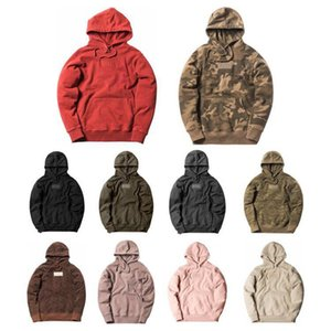 2020 KITH Hoodies Men Women KITH Classic Box Hoodie Embroidered letter Pullovers Thick cotton material SweatshirtsX1121
