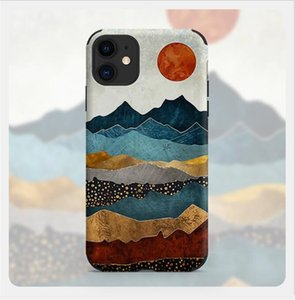 Fashion Artistic oil painting style phone case for iPHONE12PROMAX Top quality phone Cover for Iphone 6 7 8 11 12 Xspromax mini