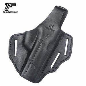 Gunflower Movie- und TV-Bühnen-Performance-Requisiten 92 oder so doppelte Zwecke Militärische Fans Cos Leder Pistolenhülse Spielzeug Ox2h