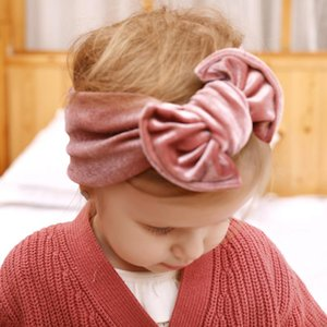2021 New Velvet Knot Bow Headband, Baby Toddlers hair accessories