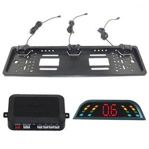 Радар Alarm Reversing RADAR Assister Паркинг Датчик для парковки Нет Резервное копирование сверла Светодиодная Подсветка Детектор Auto Parktronic Monitor Автомобильные аксессуары1