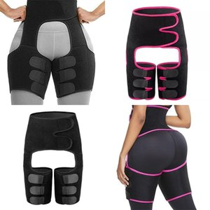 Waist Trainer Body Shape Wear Three Colors 3 In1 Waists Legs Hips Bodybuilding Slimming Bands Womens Home Gym Physical Exercise Belt 17wm L2