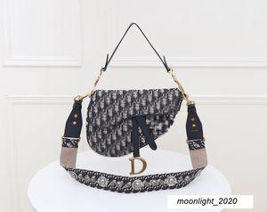 Luxury Designer Handbag Womens Cosmetic Handbag Letter DR Brand Print High Quality Fashion Leather Shoulder Bag