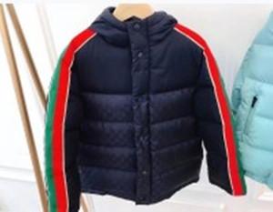 Envío gratis de alta calidad Baby Boy Boy Girl Chaqueta Chaqueta de invierno para niños Abrigo Niños Cálido Cubierto Capucha Outerwear Ropa para niños Capa de niñas infantiles