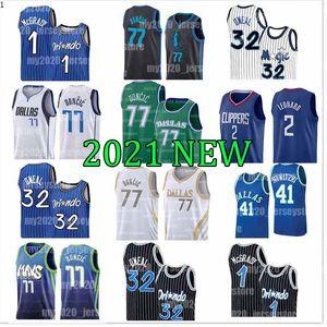 Orlando Shaquille 32 Oneal Magic Luka DallasMavericks Jersey 77 Doncic Tracy Penny 1 Hardaway McGrady Dirk 41 Nowitzki Basketball