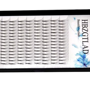 2020 NEW 5D Russian Volume Eyelashes Extension short Stem Pre made Fans C D curl 0.07 0.1mm Mink Lash Eyelash Individual Extensions