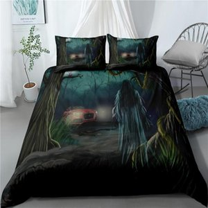 Home Decoration Moon Quilt Covers Pillowcase Single Double Full Queen Duvet Cover Set Dark Moon Night Dark Sky Bedding Sets