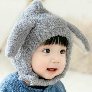 Bambino 2020FW orecchio Muffs per bambini Fashion Fashion Plush Hat Bambini Colore solido Cute Orecchie Cappello caldo Cappello Ragazzi e ragazze Trendy Neonato Cappelli Vendita calda