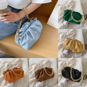Lady Brand Designer New Am Ashigo Cloud Cloud Pelle di alta Pelle Pelle Soft Bags Paper Bag Cloud Borse a tracolla singola Body Dumplings Du Du
