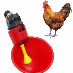 Poultry Chicken Water Cups Plastic Cup Bowls Automatic Drinking Machine Chicken Drink Cup Automatic Drinker Chicken Feeder KKA8320