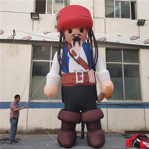 Inflatables inflables gigantes del pirata de los inflables del pirata Globo de los inflables con la luz LED y el soplador para la decoración del desfile de la ciudad