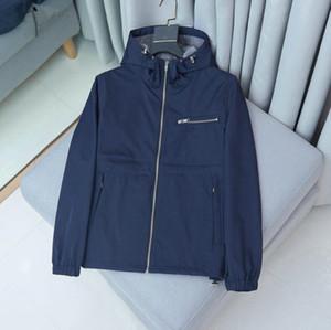 Hot 2021 Giacca da uomo Nuovi uomini eleganti uomini sottili giacca casual primavera autunno windrunner giacche cappotto sportivo a vento a vento per uomo
