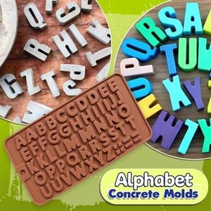 Baking Accessories Cream Cake 26 Alphabet Decorating Tools Chocolate Mold Bakery Accessories Pastry Cake Design Silicon Mold