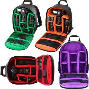 Camcoder цифровой DSLR водонепроницаемый ударопрочный дышащий для камер маленькое видео фото камеры сумка рюкзак Q1222