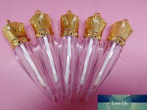 10 50 100pcs 5ML Empty Wands Shape Plastic Lip Gloss Tube, Beauty Clear Queen Lipgloss Container, Carrot Wands Lipstick Bottle