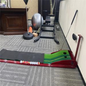 3M Indoor Golf Putter Trainer with return fairway Training Mat Golf Putter Adjustable Slope Green Putter Putting Green Mat Mini golf set