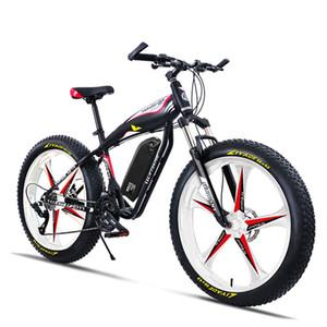 26inch Fat TIRE EBIKE 500W / 1000W 48V21AH LI-ION SNOW SNOW MONTAGE Vélo Hydraulique Batterie de lithium Batterie de lithium eBike