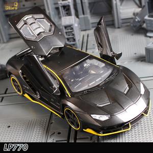 LP770 1:32 سبيكة سيارة نموذج المعادن دييكاست لعبة السيارات نموذج سيارة ضوء الصوت التراجع سيارات لعبة الأطفال هدية الساخنة عجلة Z1202