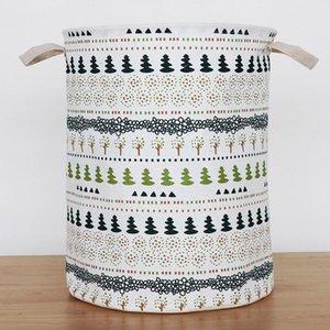 2020 New Toy Folding Laundry Basket Geometric Storage Bucket Vertical Clothing Storage Bucket Laundry Bag Storage Bag