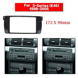 2 Din Radio Fascia for E46 3 Series Stereo Panel Dvd Adaptor Refitting Dash Frame 173X98mm car