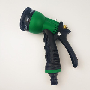 Garden Water Hose Spray Gun 8 Pattern High Pressure Power Washer Water Gun Spray Nozzle for Home Car Cleaning Irrigation Tools