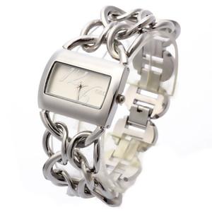 G&D Silver Women Quartz Wristwatches Stainless Steel Top Brand Luxury Ladies Bracelet Watches Gifts Relogio Feminino Clock Gifts J1205
