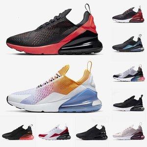 أحذية جديدة في الهواء الطلق للرجال النساء المدربين الهواء rainbow bed 27c جامعة أحمر حار لكمة كور الأبيض كن حقيقي رياضة أحذية رياضية