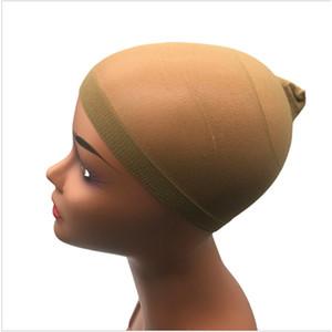 Tapas de pelucas Dobles Caps Four Colors Opcional EUROPEO Y AMERICANO AMERICANO SIMPLE SIMPLE ELASTIDAD PELO FIJO PELO FIJO Accesorios de peluca