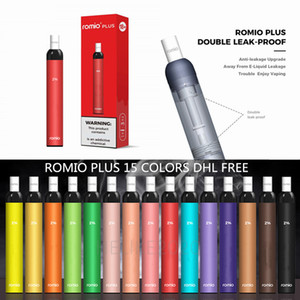 Romio Inoltre monouso Vape Pen Pod Romio 500mAh 3 ml preriempita E Cigarette Starter Kit 500 + sbuffi